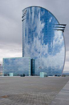 W Hotel, Barcelona, Spain by Xavier de Jauréguiberry #architecture ☮k☮
