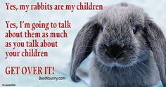 Can never talk too much about bunnies! www.best4bunny.com