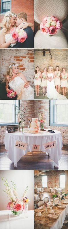 Real Vintage Romance Wedding