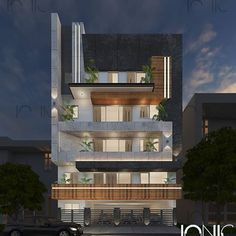 Best Exterior Design in India Residential Building Design, Architecture Building Design, Home Building Design, Facade Design, Architecture Interiors, Modern Exterior House Designs, Modern House Facades, Modern House Design, Exterior Design