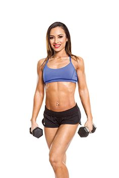 Try this fast lower body workout routine from Yeshaira Robles, including a treadmill workout and leg exercises
