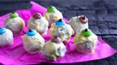 Siúcra's Truffle Eyes - RTE Food Kermit, Fest, Pudding, Christmas Ornaments, Halloween, Holiday Decor, Desserts, Tailgate Desserts, Deserts
