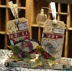 Christmas tags - Scrapbook.com