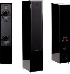 "MartinLogan - Motion 20 5-1/2"" Floor Speaker (Each) - Gloss Black, MO20GBL"