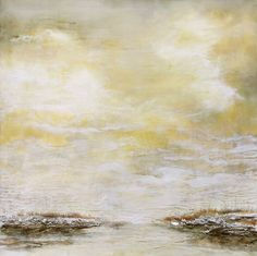 "Robin Luciano Beaty  ""Quiescence #3"" (2011) 36"" x 36"" Encaustic, mm, vintage found objects on birch. www.robinlucianobeaty.com"