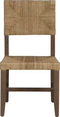 fiji side chair crate and barrel classic woven seating finds new expression in hand balboa side chair