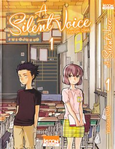 Yoshitoki Ooima, Koe no Katachi, Shouko Nishimiya, Shouya Ishida, Manga Cover
