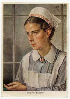 German Red Cross nurse/sister PC