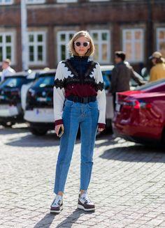 De beste streetstyle van Kopenhagen Fashion Week