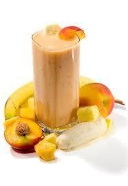 WEIGHT LOSS SMOOTHIE    Ingredients:    1 ripe mango, flesh only   1 small banana   100g low-fat peach yoghurt   200ml cranberry juice  Recipe  1 Peel the mango and banana   2 Roughly chop the fruit   3 Throw all ingredients into a blender (and put the lid on)   4 To finish, blend until smooth and serve #weightlosstips