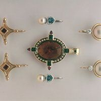 Bespoke Jewellery » Bespoke Earrings Bespoke Jewellery, Bracelet Watch, Range, Watches, Bracelets, Earrings, Gold, Handmade, Accessories