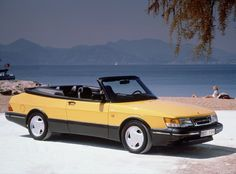 Images of Saab 900 Turbo Convertible - Free pictures of Saab 900 Turbo Convertible for your desktop. HD wallpaper for backgrounds Saab 900 Turbo Convertible car tuning Saab 900 Turbo Convertible and concept car Saab 900 Turbo Convertible wallpapers. Saab 900 Turbo, Turbo Car, Saab 900 Convertible, Gq, Saab Automobile, National Electric, Ferrari, Yellow Car, Commercial Vehicle