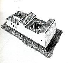 Prospettiva di una domus romana