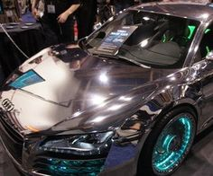 Audi R8 with Led lights