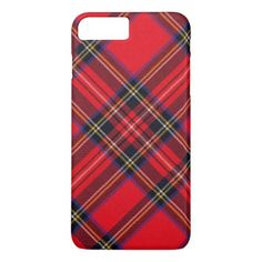 Royal Stewart iPhone 8 Plus/7 Plus Case - red gifts color style cyo diy personalize unique