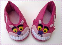 Free Pattern - Carmela Caramella : Sapatinho gato risonho - molde