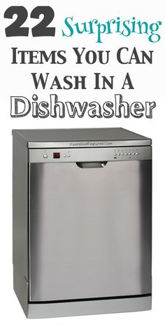 Cleaning Tips for Home and Cool DIY Cleaning Hacks I never knew about using a dishwasher http://www.realsimple.com/home-organizing/cleaning/cleaning-kitchen/surprising-uses-dishwasher