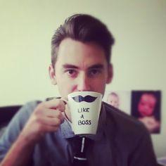 DIY sharpie mugs father's day gift idea