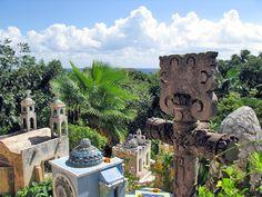 Le Cimetière de Xcaret (Mexique) – Crédit Photo: Dtraveller Cancun – Licence CC BY-NC-ND 2.0
