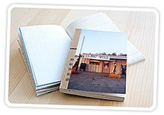 easy and fast   just glue the pics and add a little binding