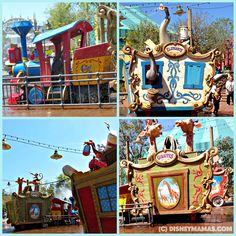 """With the hot, humid Florida summer just around the corner ... be sure to check out The Casey Jr. Splash 'N' Soak Station at Walt Disney World""""!  You'll find whimsical circus animals ready to play!"""