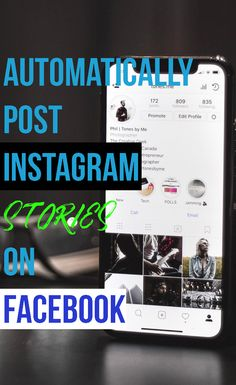 Share your Instagram Stories on Facebook automatically. You don't need to post it one by one. Just connect the Facebook account and let them post for you. Here is how you can do that