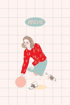 move - 디지털 아트 · 일러스트레이션, 디지털 아트, 일러스트레이션, 일러스트레이션