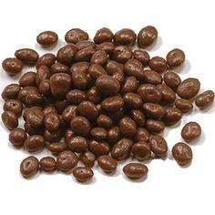 Chocolate Covered Raisins from Wilbur's.