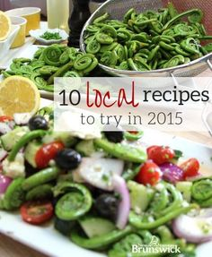 10 Recipes for From tasty treats to crunchy munchies, bring a taste of New Brunswick to your table. Yummy Treats, Yummy Food, Fresh Seafood, New Brunswick, Farmers Market, Green Beans, Food And Drink, Tasty, Vegetables