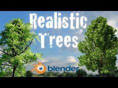 Create Realistic Animated Trees - Beginner Blender Tutorial - YouTube