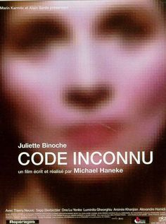 Code Unknown (2000), Michael Haneke poster