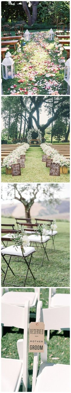 Wedding Outdoor Ceremony Decorations Mariage New Ideas Wedding Outdoor Ceremony Decorations Mari Wedding Altars, Rustic Wedding, Wedding Aisles, Wedding Backdrops, Ceremony Backdrop, Trendy Wedding, Wedding Reception, Perfect Wedding, Dream Wedding