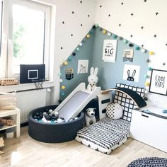 Childrens Room Home Decoration Small Room Wall Painting Home Design Little Girls DIY Home StorageTable setting Home Furniture Childrens Bed Display Pillow Childrens Bed W. Baby Bedroom, Baby Boy Rooms, Baby Room Decor, Nursery Room, Baby Boy Bedroom Ideas, Room Baby, Toddler Boy Room Ideas, Boy Toddler Bedroom, Toddler Room Decor
