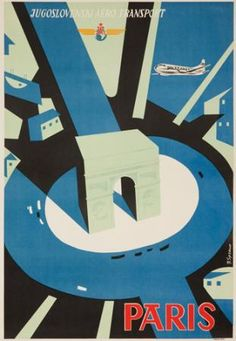 •Jugoslovenski Aero Transport / Paris1945