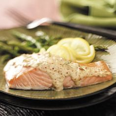 Chipotle-Sparked Mustard Salmon Recipe from Taste of Home -- shared by Helen Conwell of Fairhope, Alabama