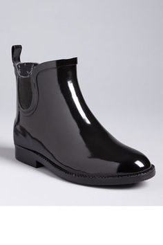 Non-traditional rainboots to stay dry in style