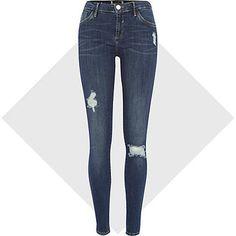 Dark wash Amelie superskinny reform jeans £40.00