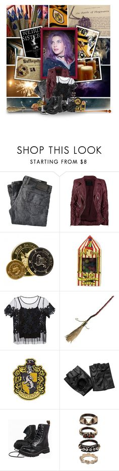 """""""Nymphadora Tonks"""" by aislinnthinksshescool ❤ liked on Polyvore featuring Diesel, Marc Jacobs, Elie Tahari and Iosselliani"""