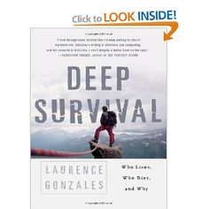 """Terrifically interesting book discussing the psychology and neuroscience of survivors.  This is not a """"how to"""" book."""