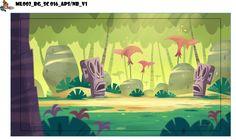 the Little White Bat: Marcus Level 2d Game Background, Cartoon Background, Animation Background, Book Design Layout, Art Design, Art Environnemental, Jungle Art, Visual Development, Environment Design