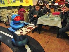 Japanese restaurant replaces waiters with conveyor belt and Robot to deliver your food   Current News   Bangla Newspaper   English Newspaper   Hot News