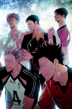 captains, oikawa, sawamura, ushijima, bokuto, kuroo, http://um-mmma.tumblr.com/post/100841221476