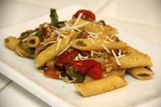 Pasta Primavera (vegan option, gluten-free option) - Vegetarian Gastronomy   http://vegetariangastronomy.com/