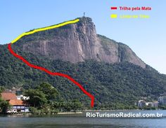 Trilha Parque Lage - Corcovado. Parque Nacional Floresta da Tijuca, Rio de Janeiro