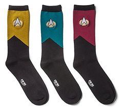 Is your man a fan of Star Trek the Next Generation. Why not get your some Star trek TNG socks! Star Trek Shop, Star Trek Wedding, Geek Wedding, Wedding Ideas, Star Trek Gifts, Star Trek Merchandise, Star Trek Uniforms, Little Presents, Xmas Presents