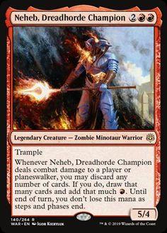 Neheb the Worthy FOIL Amonkhet NM Black Red Rare MAGIC MTG CARD ABUGames