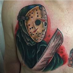 Super rad Jason Voorhees from @ickabrams.