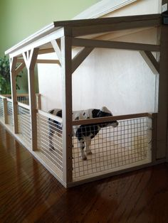 Custom Built Toy Barn by CustomBarns on Etsy, $275.00