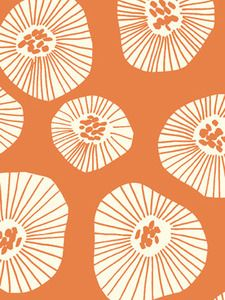 lotta jansdotter - thinking this motif might might a great painted floor for the kitchen