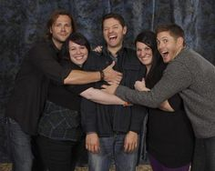 Everybody grab a part of Misha ;)